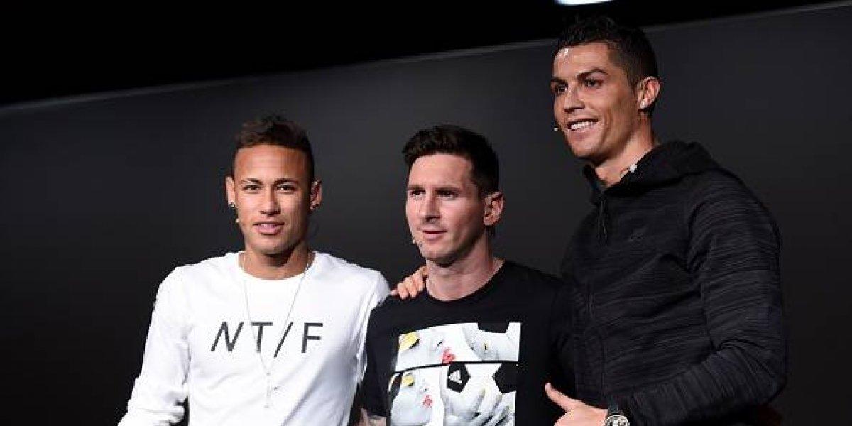 Espero que Neymar tome el lugar de Cristiano y Messi: Ronaldinho