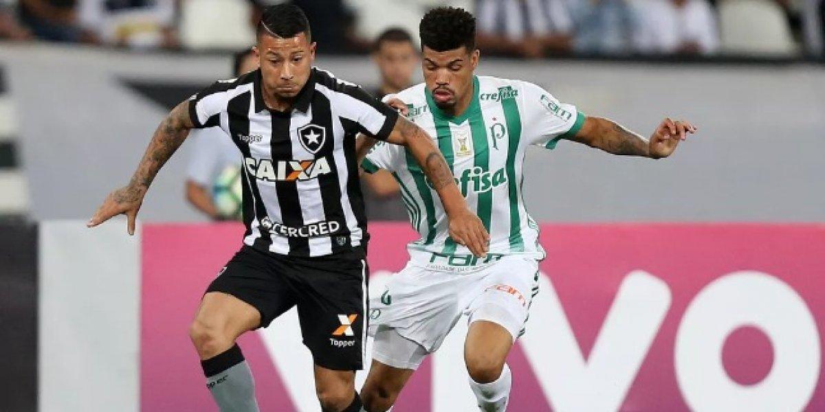 """""""¿Será lo que Montillo no fue?"""": Leo Valencia se llenó de elogios en su debut con Botafogo"""