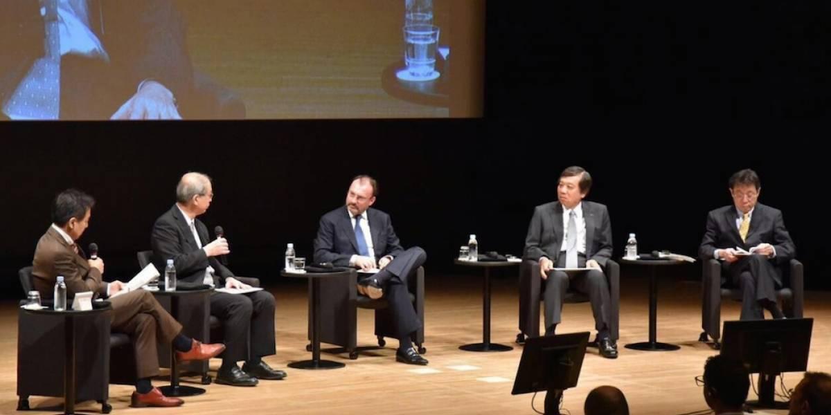 México quiere corregir los desequilibrios del TLCAN: Luis Videgaray