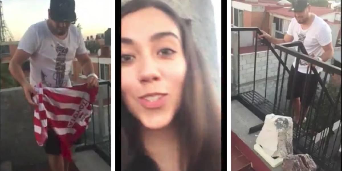 VIDEO: Novia trapea con el jersey de Chivas ¡de su pareja!