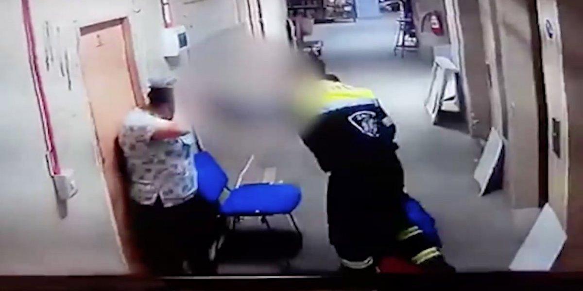 Paramédico del SAPU que golpeó a su pareja embarazada enfrentará querellas en su contra de dos partes