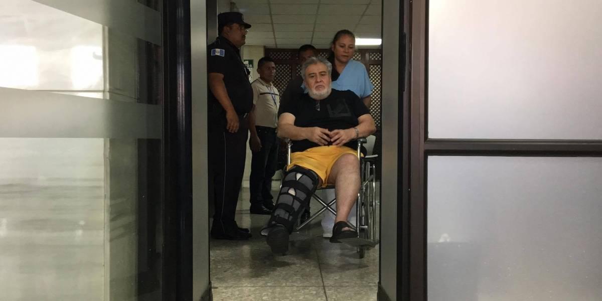 """VIDEO. El saludo especial de alias """"Teniente Jerez"""" y otro sindicado en Tribunales"""