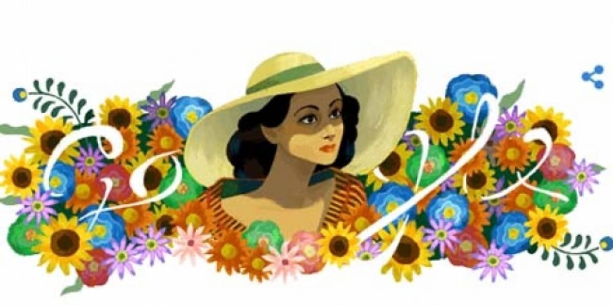 Google recuerda a Dolores del Río con emotivo Doodle