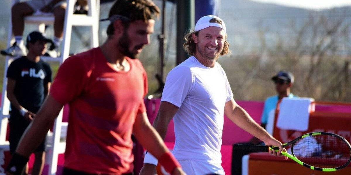 Mexicanos Reyes-Varela y Hatch eliminados en primera ronda de tenis en Los Cabos