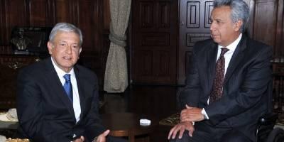 ¿De qué hablaron AMLO y el presidente de Ecuador?