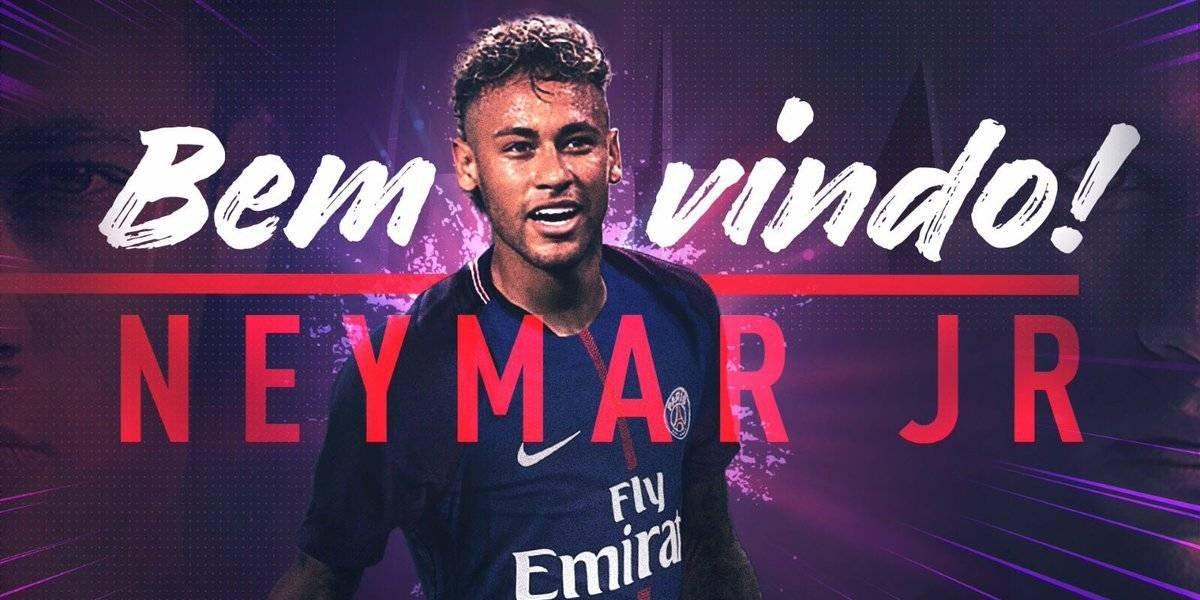 El PSG hace oficial la llegada de Neymar