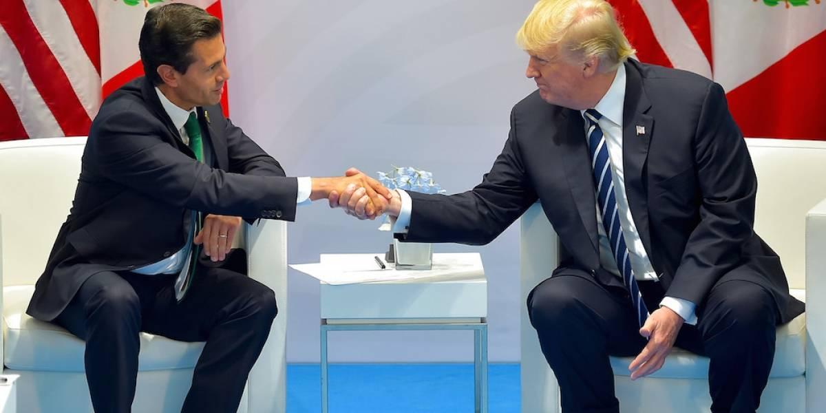 Trump pidió a Peña no decir en público que no pagará el muro, revela WP
