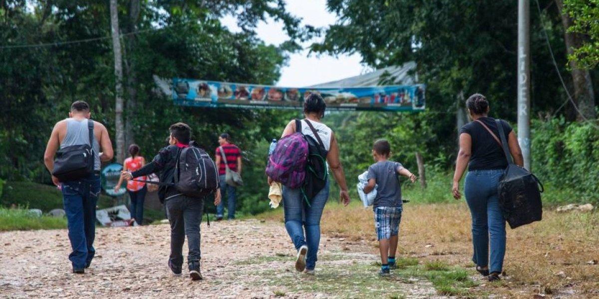 Aumentan solicitudes de refugio de salvadoreños y hondureños en Guatemala