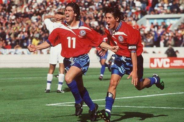 Zamorano y Salas se vuelven a juntar / imagen: Getty Images