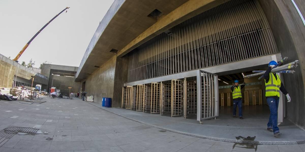 Línea 6: Estación Estadio Nacional soportará 40 mil personas por hora