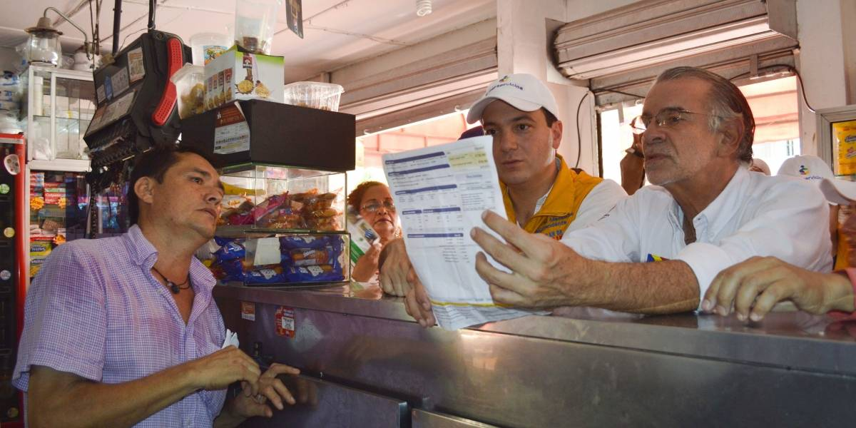 En Barranquilla inició el plan de choque de Superservicios para usuarios de Electricaribe