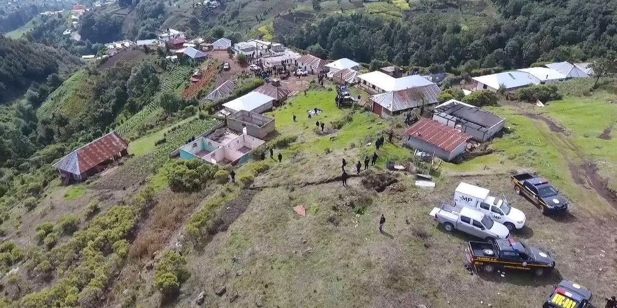 Ejecutivo presenta iniciativa para delimitación territorial entre Ixchiguán y Tajumulco