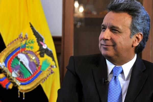 65% de quiteños y guayaquileños califican de positiva la imagen de Lenin Moreno