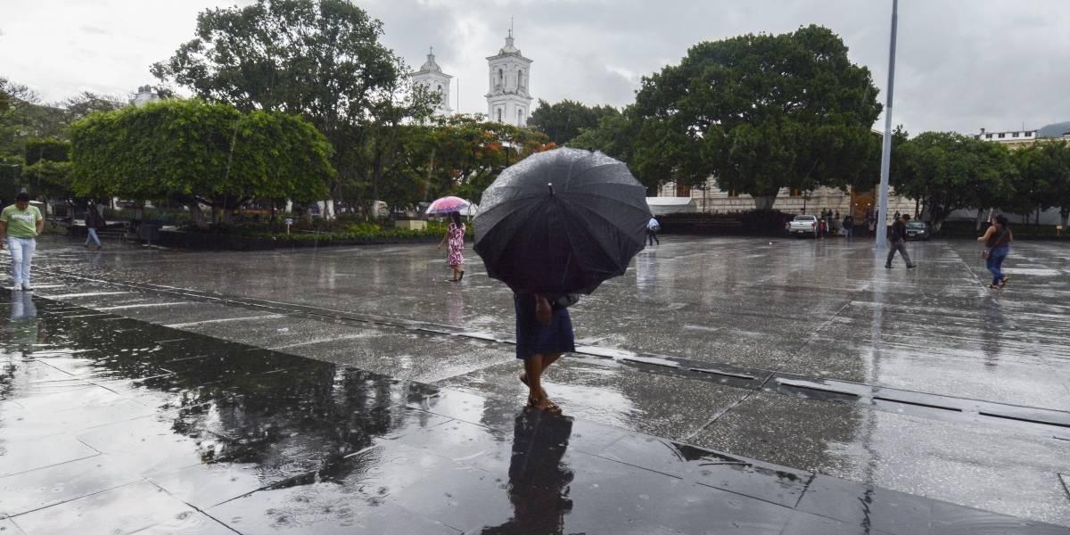 Este jueves seguirán tormentas fuertes en gran parte del país