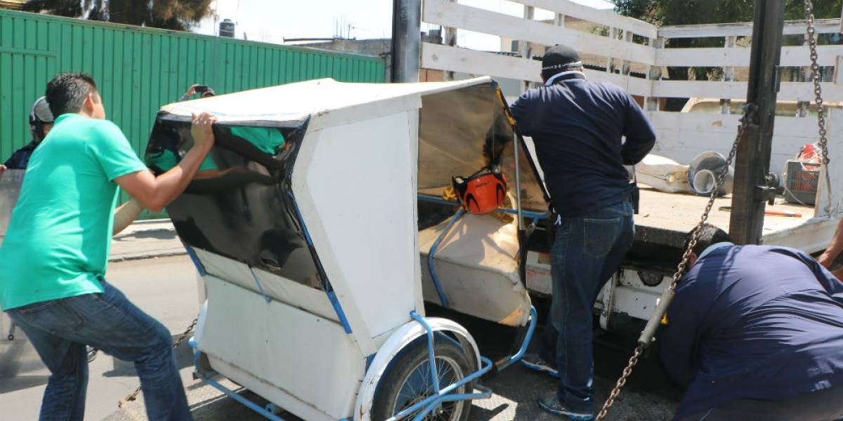 Autoridades y ALDF descartan regularizar mototaxis