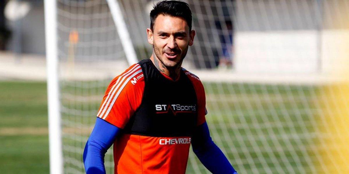 Mauricio Pinilla ya está habilitado para jugar por la U y podría redebutar ante Temuco