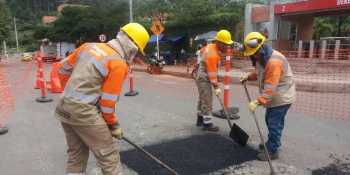 En Medellín se taparán 1.700 huecos durante este mes