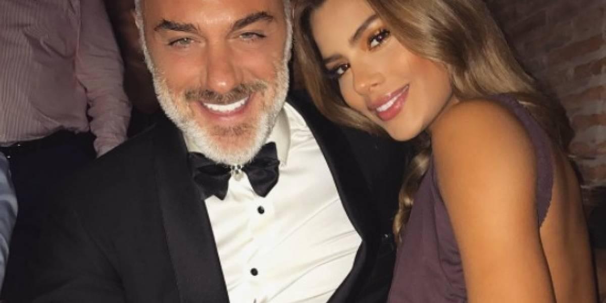 Gianluca Vacchi sorprende a Ariadna Gutiérrez
