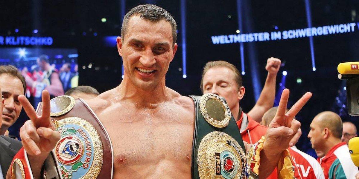 Wladimir Klitschko se retira del boxeo a los 41 años