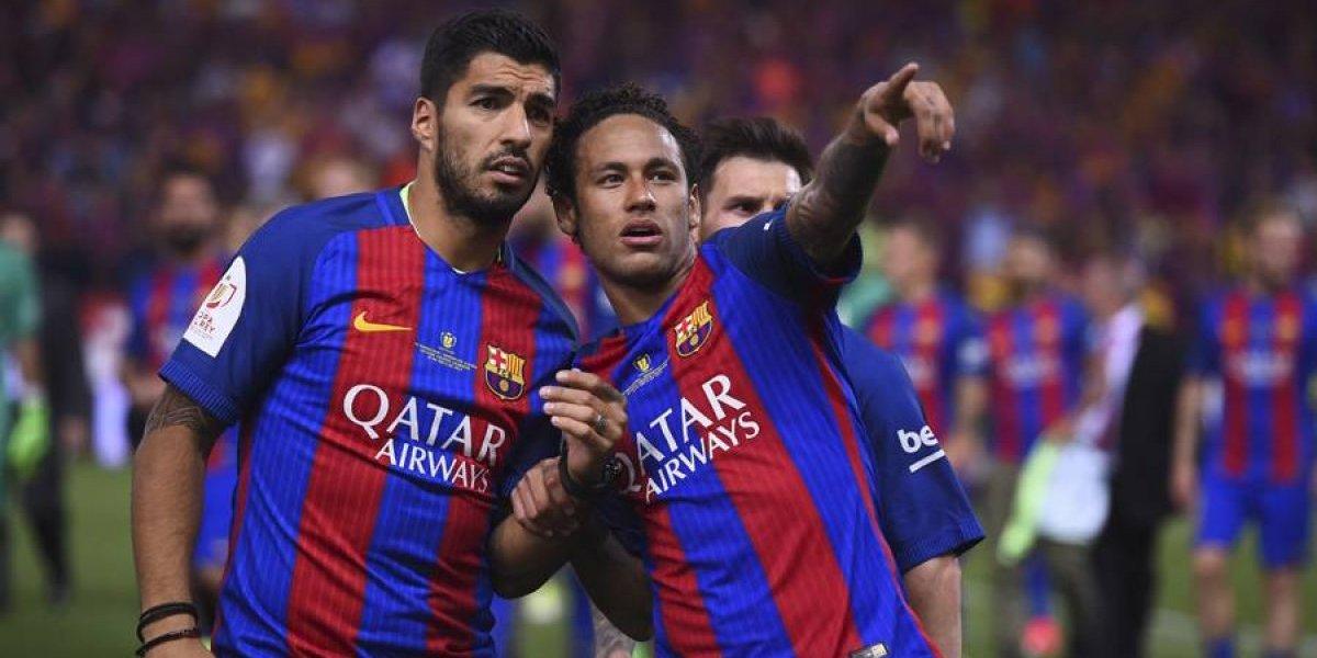 """Suárez a Neymar: """"Seguí así y no cambies nunca, te quiero hermanito"""""""
