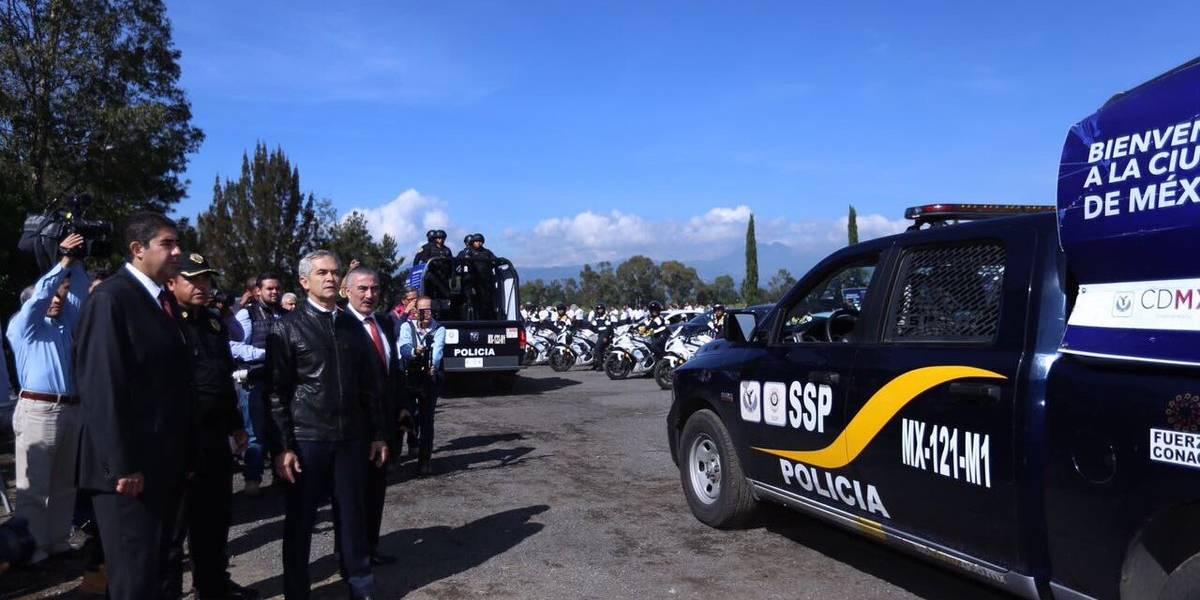 Mancera lanza operativo contra deshuesaderos de autos en Tláhuac