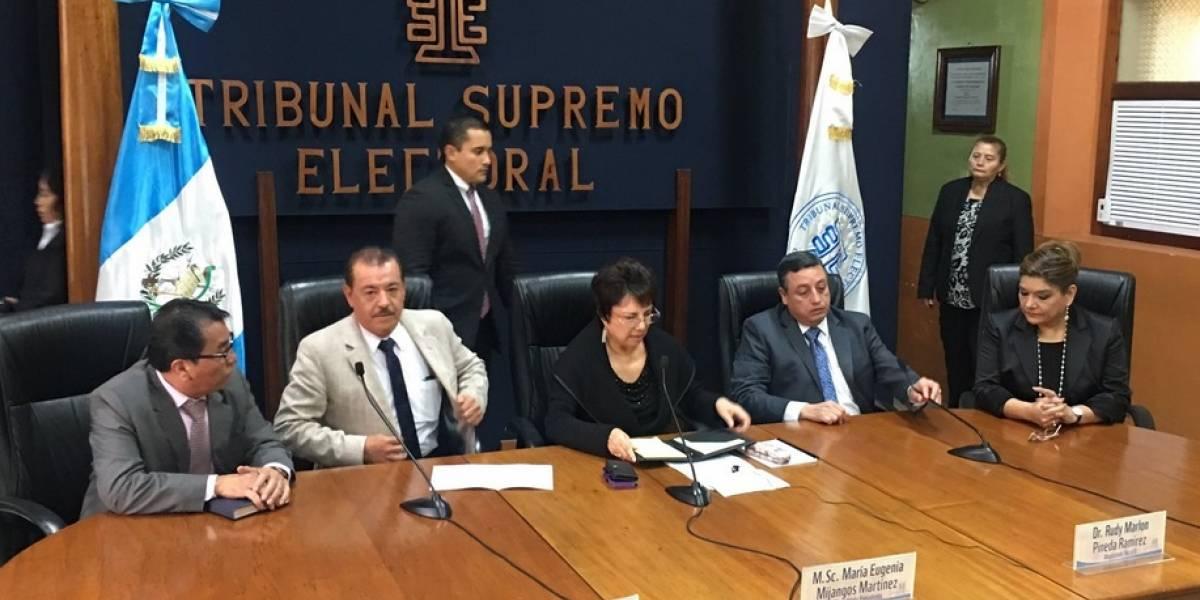 TSE rechaza cambios electorales que propone algunos diputados