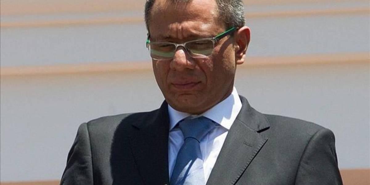 Glas agradece apoyo de Alianza PAIS tras pedido de vinculación en caso Odebrecht