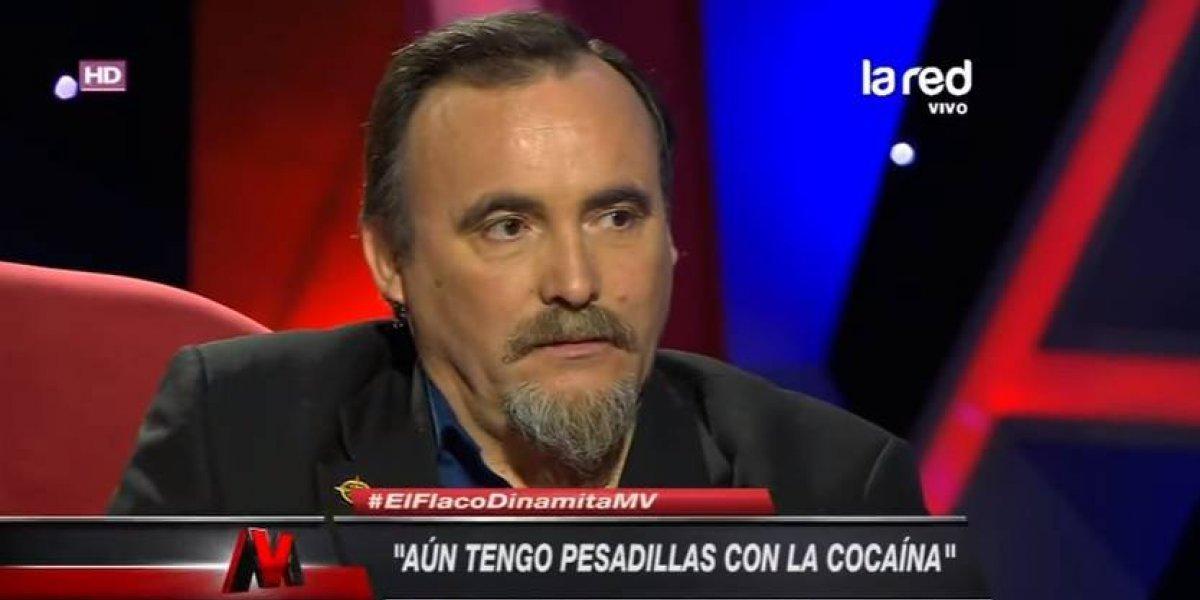 """Paul Vásquez, """"El flaco"""": """"Tengo pesadillas con la cocaína"""""""