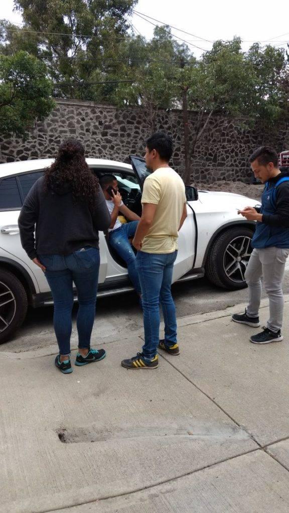 REFEREE Futbolista choca tras finalizar práctica de Pumas