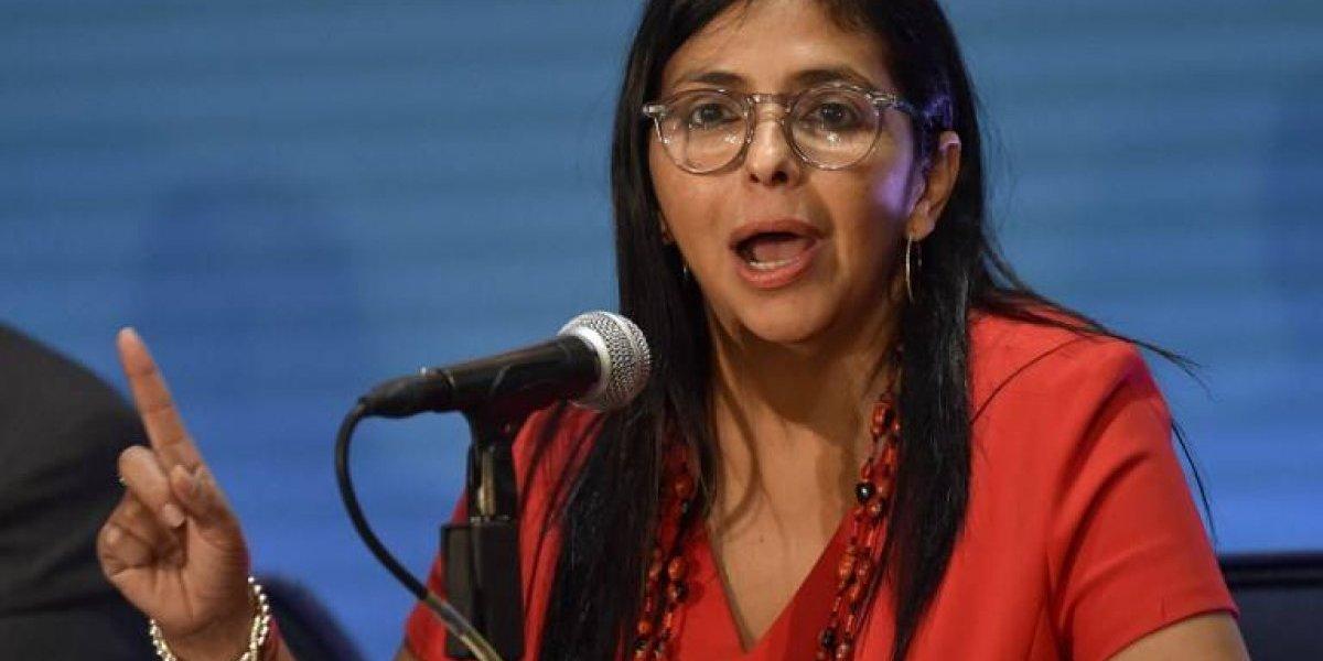 Delcy Rodríguez: Estas son las mejores 7 frases con que asumió la persona más poderosa de Venezuela