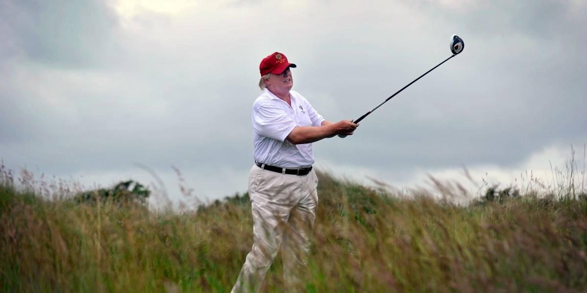 Mucho golf y Twitter en los primeros meses de Trump en el gobierno