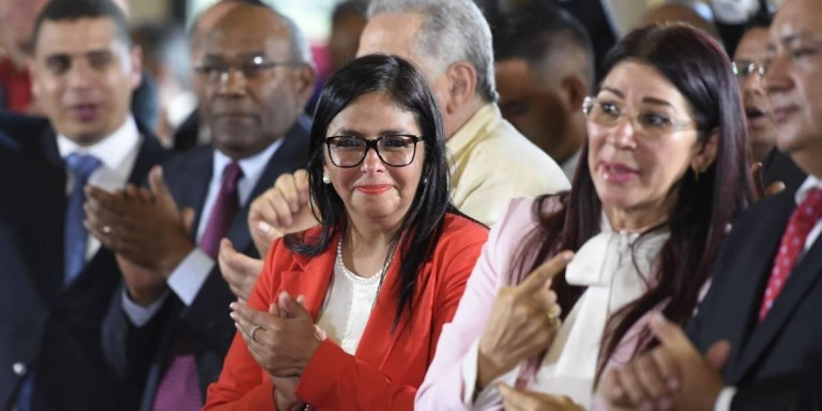 Venezuela: Asamblea Nacional Constituyente elige a Delcy Rodríguez como su presidenta y se instala en el Parlamento
