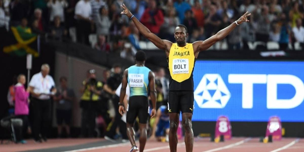 """Usain Bolt llegó """"caminando"""" a semifinales de los 100 metros del Mundial de atletismo"""