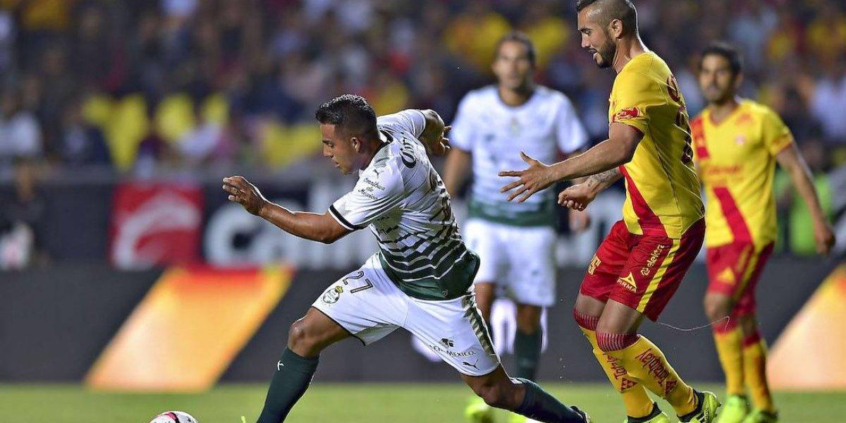 ¡Siguen sin ganar! Morelia y Santos empatan a un gol