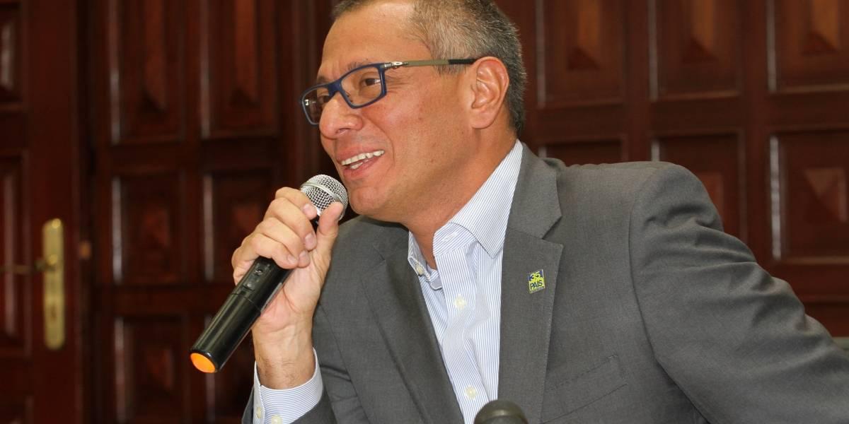 Jorge Glas dice cese al fuego es buena noticia para Colombia y para Latinoamérica
