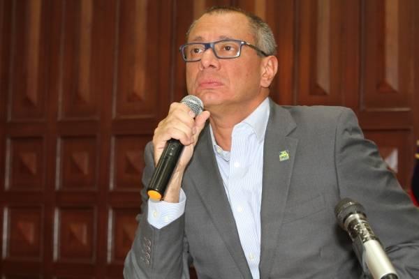 Glas afirma que recibía visitas del ex director de Odebrecht