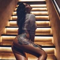 Los tatuajes, su otra pasión