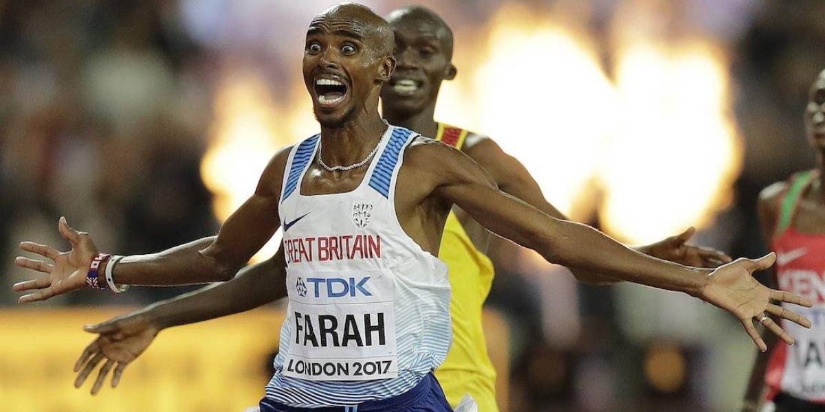 Farah se cuelga el primer oro de Londres 2017