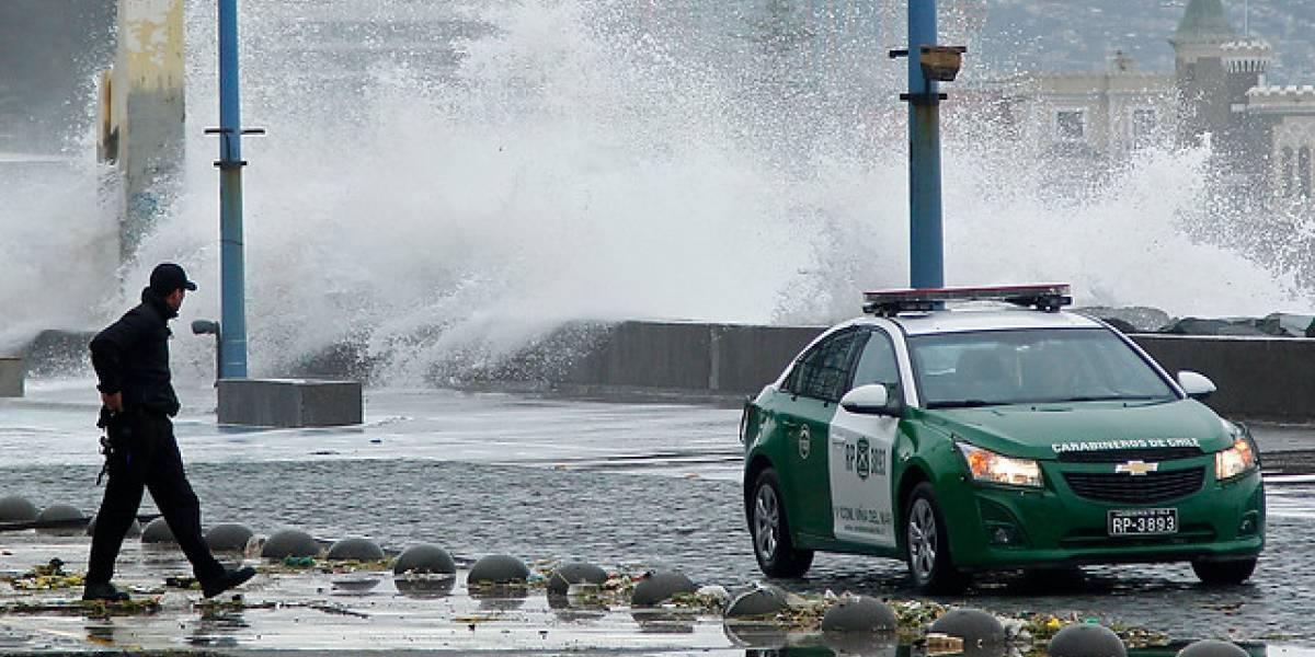 Armada emite nueva alerta por marejadas para el fin de semana en las costas del país