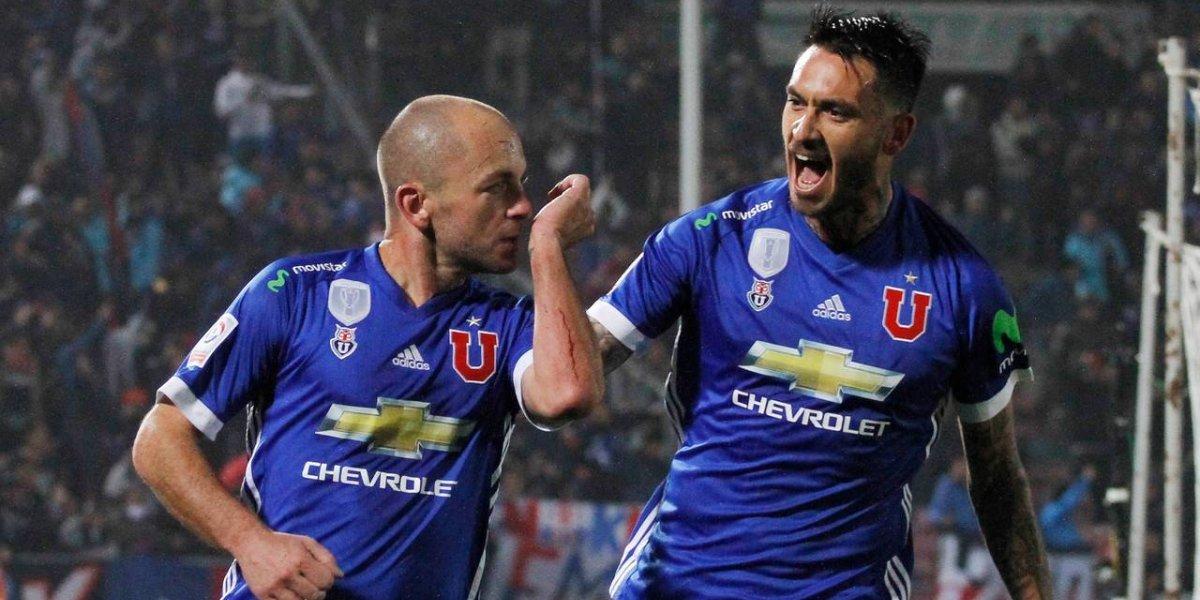 Minuto a minuto: Lorenzetti empata el partido y le devuelve la sonrisa a la U y Pinilla