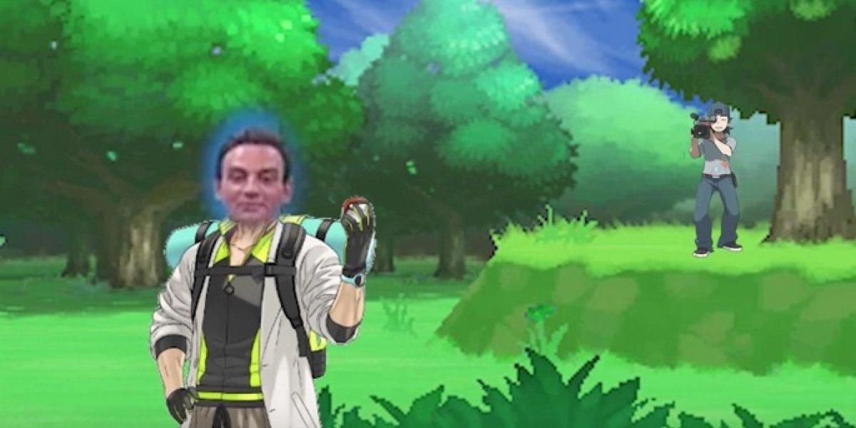 Las redes sociales no olvidan: el día que periodista chileno hizo el ridículo tratando de jugar Pokémon GO