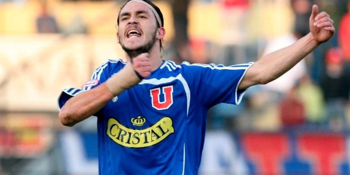 Mauricio Pinilla volvió a jugar por la U en el Nacional después de 3.751 días