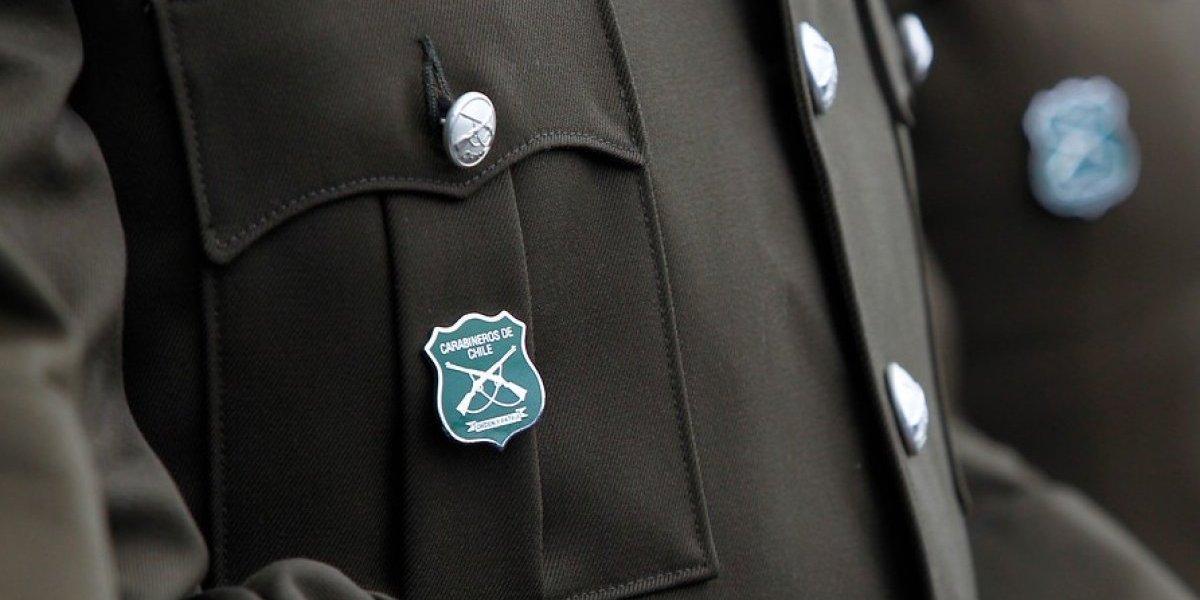 Comandante de Carabineros es detenido por violencia intrafamiliar