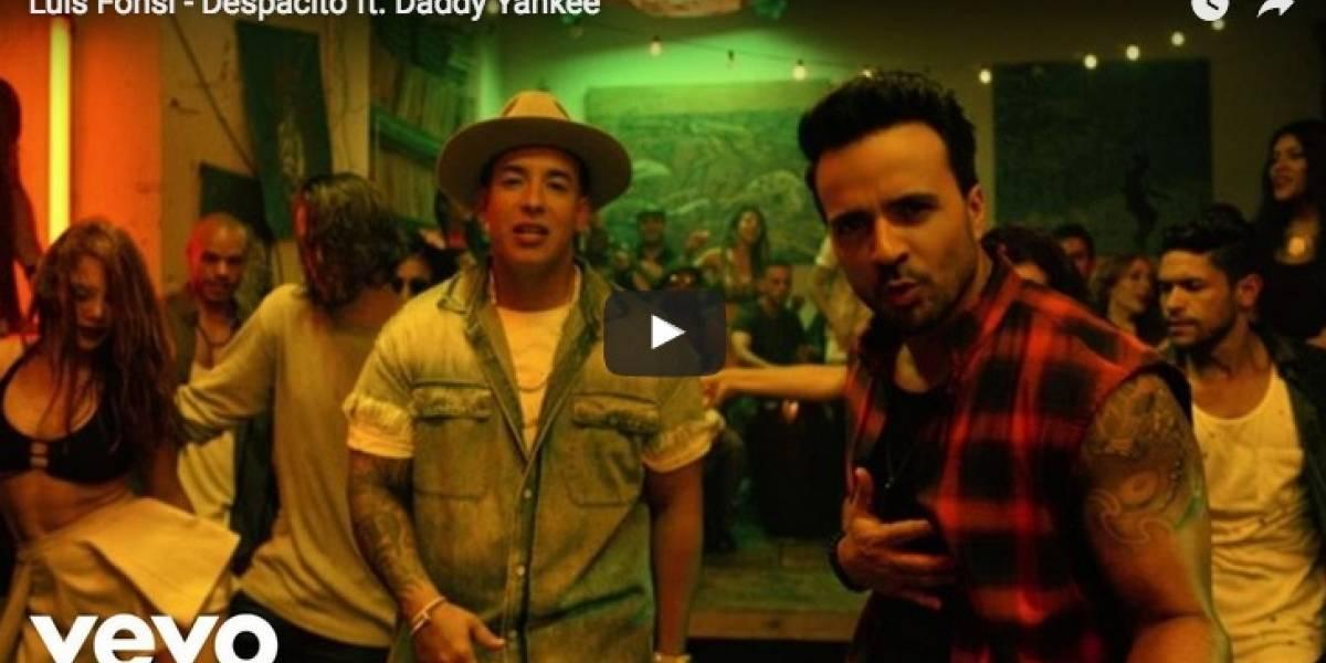 """""""Despacito"""" alcanza el récord que le faltaba: ser el video más visto de Youtube"""