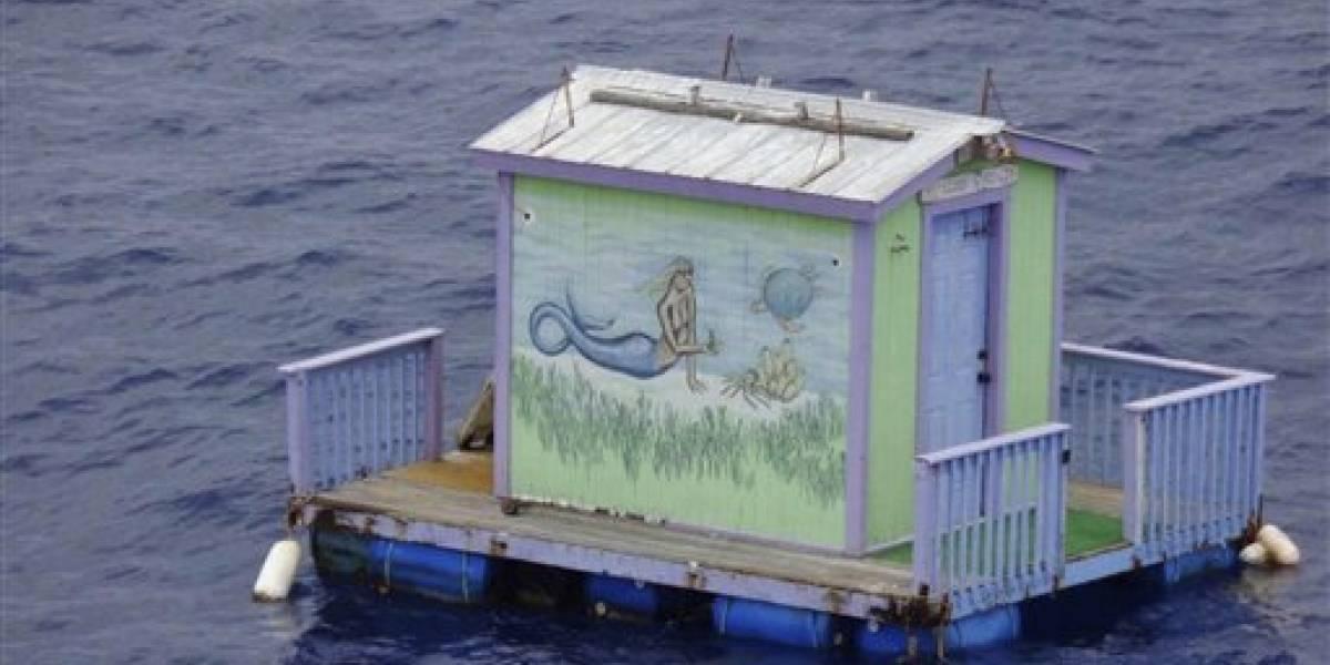 """Encuentran la """"casa de una sirena"""" en Grand Isle, en Luisiana"""