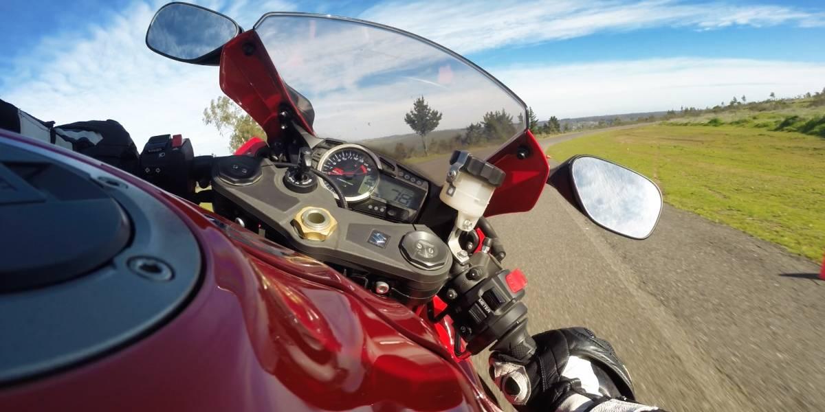 En Leyda, Suzuki puso a prueba sus motos de velocidad