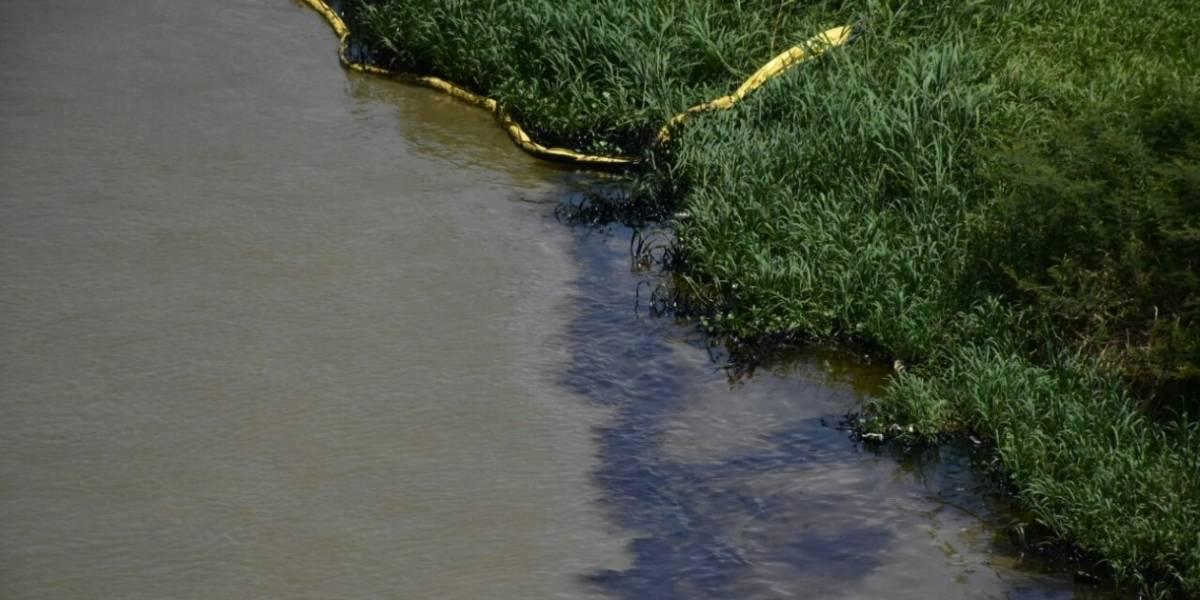 Derrame de hidrocarburo fue controlado en el Río Magdalena