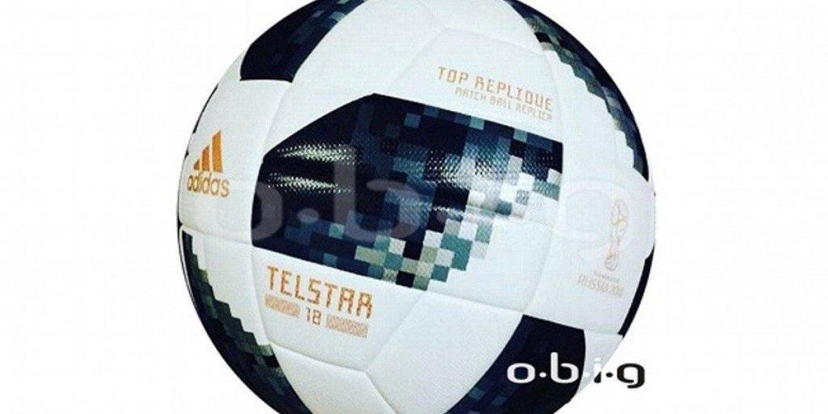 Filtran imágenes del Telstar 18, el balón para el Mundial de Rusia 2018