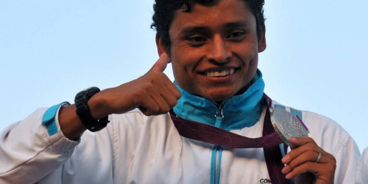 Erick Barrondo recuerda su medalla de plata ganada en Londres 2012