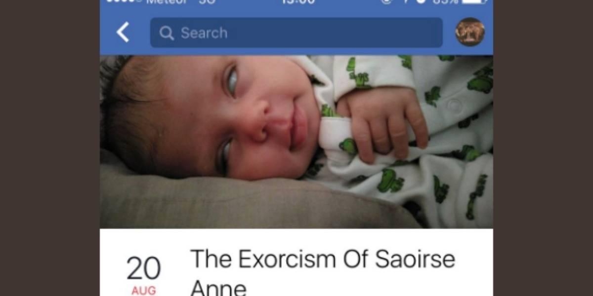 """Padre invita al """"exorcismo"""" de su hija y a los minutos se arrepiente tras monumental reto"""